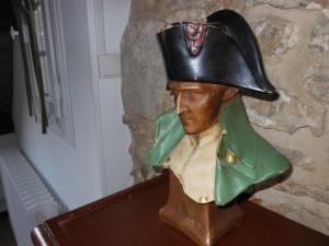 Buste de Napoleon Manoir du Pont