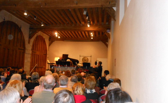 Musique à l'orangerie du chateau de maintenon