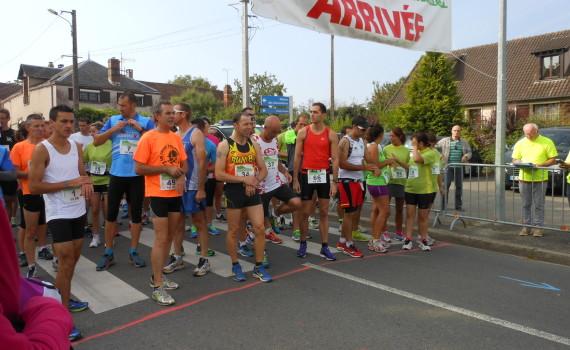 Foulées Baillarmoises du 7.9.2014 course