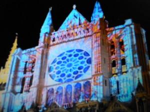 Cathedrale Chartres en lumière