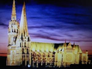 Cathedrale de Chartres en lumière