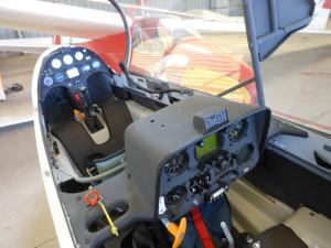 Cockpit d'un planeur Bailleau Armenonville