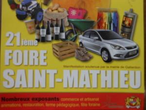 Foire Saint Mathieu Manoirdupont
