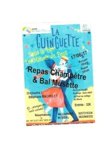 soirée guinguette du samedi 17.06.17