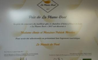 Prix de la Plume Dort 2017
