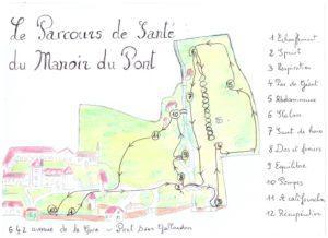 Parcours sante Manoir du Pont